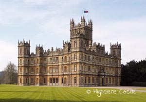The Yorkshire Country Estate of Downton Abbey Location