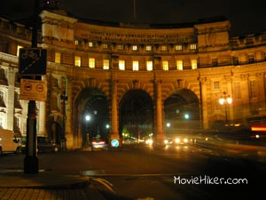 Admiralty Arch, The Mall Location