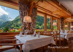 The Night Manager Meets Richard Roper, The Hotel in Switzerland Location